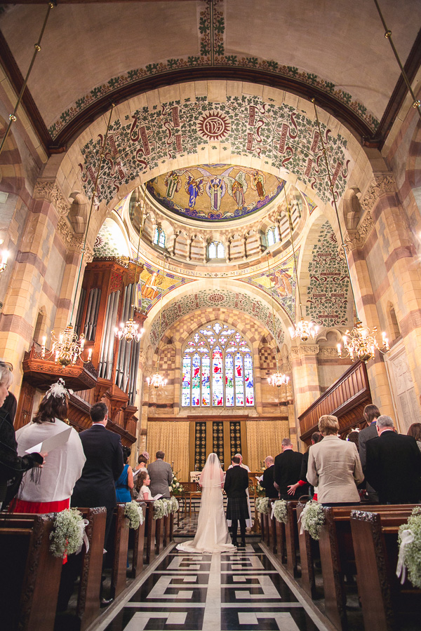 Megan Amp Stuart S Giggleswick School Chapel Wedding Lake