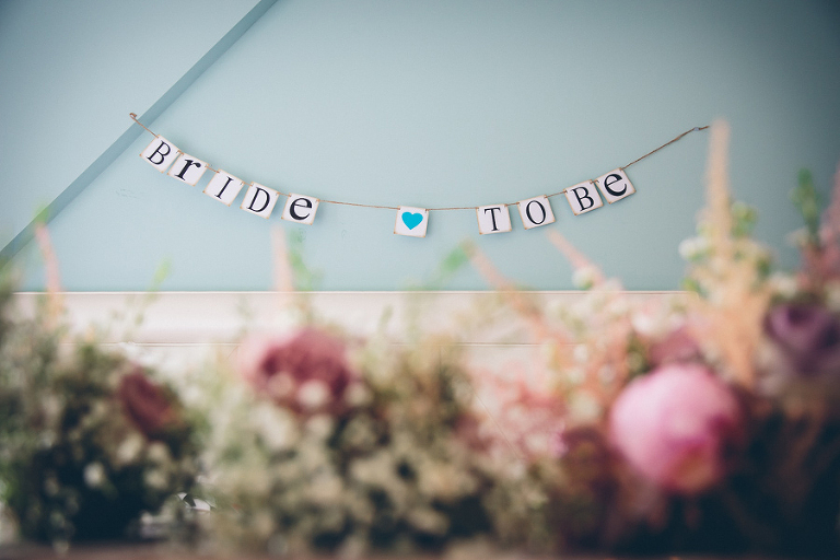 Bride to be bunting