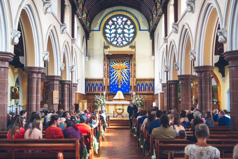 Our Lady and St Joseph's Church Wedding
