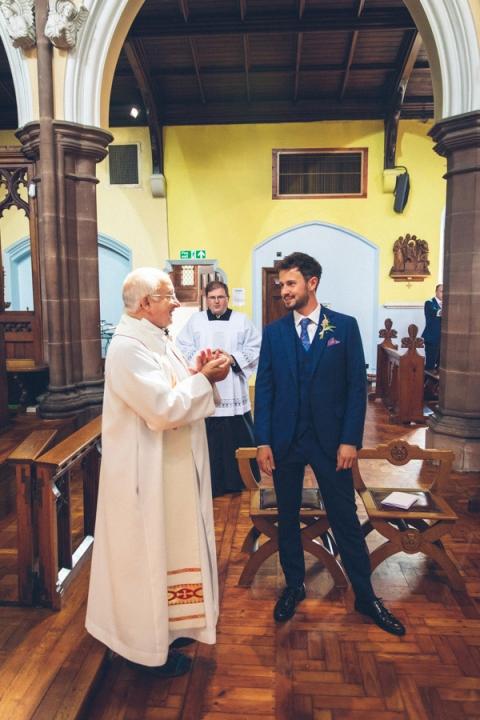 Our Lady & St Joseph's Church Carlisle Wedding